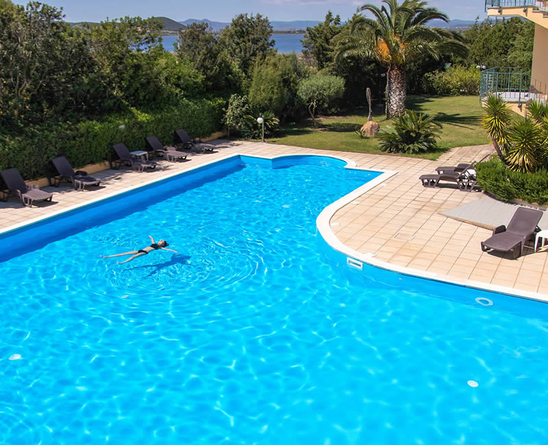 Swimming Pool Hotel Cala Dei Pini