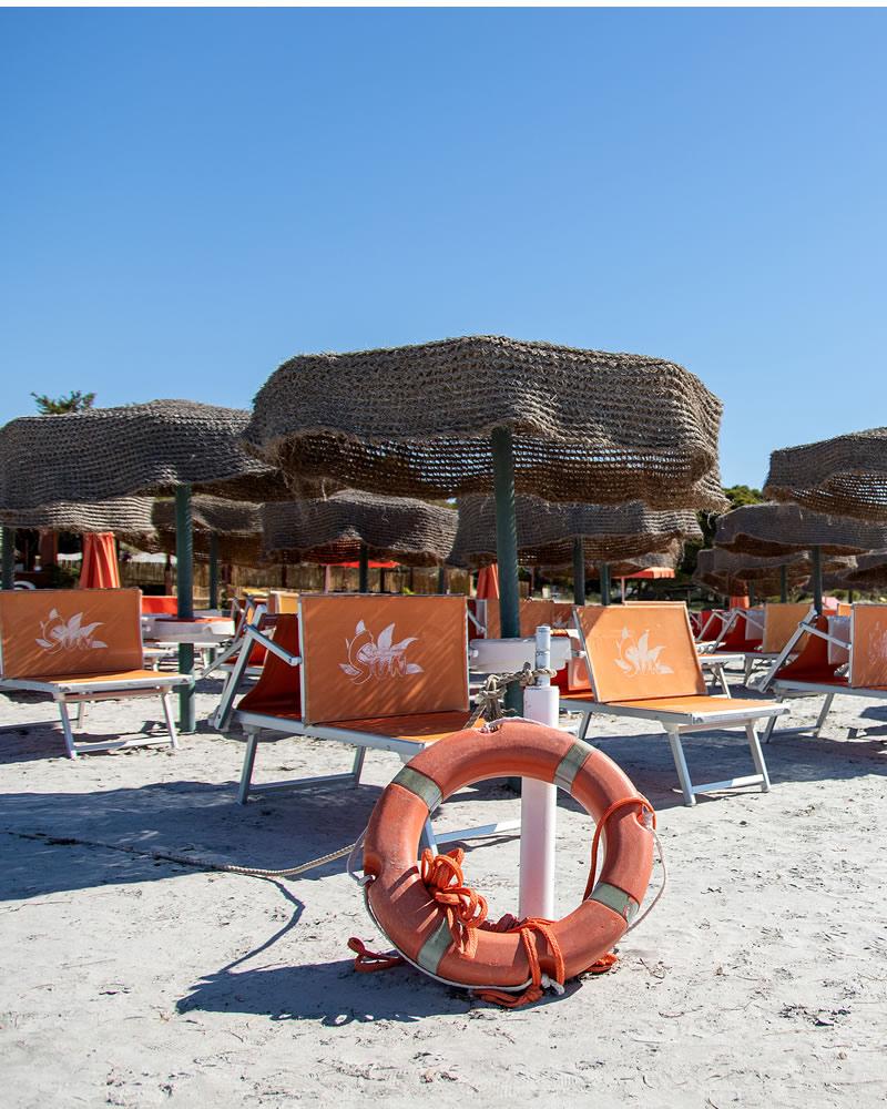 Badeanstaltenleistung Hotel Cala Dei Pini
